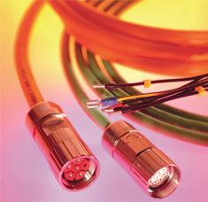 Konfekcionált szervomotor-, ventilátor- és visszacsatoló kábelek